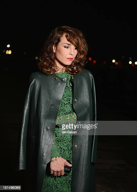 Actress Noomi Rapace poses for a portrait during a gala dinner hosted by JaegerLeCoultre celebrating 'Passion' at Harry's Dolci Cipriani on September...
