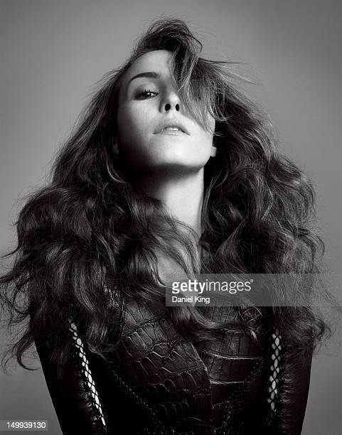 Actress Noomi Rapace poses for Elle Magazine on July 28 2010 in London England PUBLISHED IMAGE
