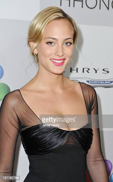 Actress Nora Arnezeder arrives at NBCUniversal's 69th Annual Golden Globes Viewing and After Party Sponsored By Chrysler and Hilton held at The...