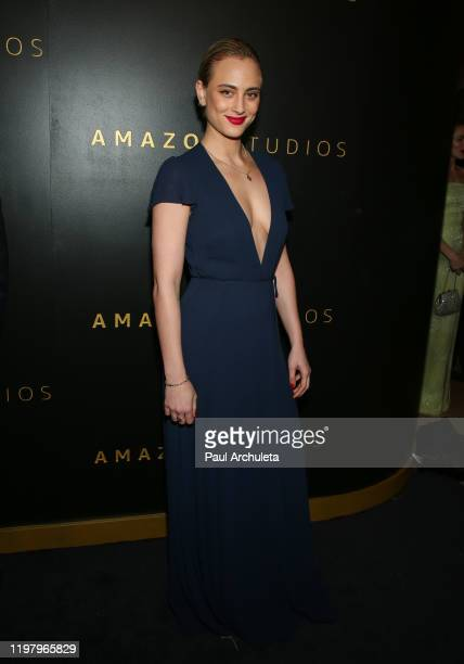 Actress Nora Arnezeder attends Amazon Studios Golden Globes after party at The Beverly Hilton Hotel on January 05 2020 in Beverly Hills California
