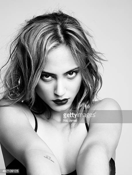 Actress Nora Arnezeder is photographed for Self Assignment on April 30 2013 in Los Angeles California
