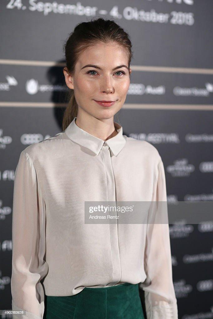Actress Nora von Waldstaetten attends the 'Die Dunkle Seite Des Mondes' Press Conference during the Zurich Film Festival on September 27, 2015 in Zurich, Switzerland. The 11th Zurich Film Festival will take place from September 23 until October 4.