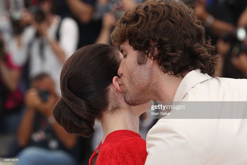 Actress Nora Von Waldstatten and Edgar Ramirez attend the 'Carlos' Photocall at the Palais des Festivals during the 63rd Annual Cannes Film Festival on May 20, 2010 in Cannes, France.