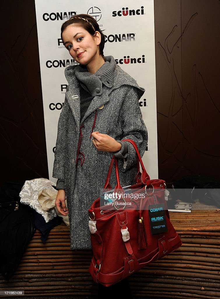Actress Nora Zehetne visits the Hollywood Life House Suite on January 18, 2009 in Park City, Utah.
