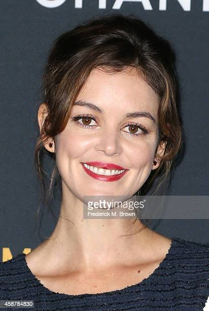 Actress Nora Zehetner attends the screening of The Weinstein Company's 'The Imitation Game' hosted by Chanel at the Directors Guild of America...