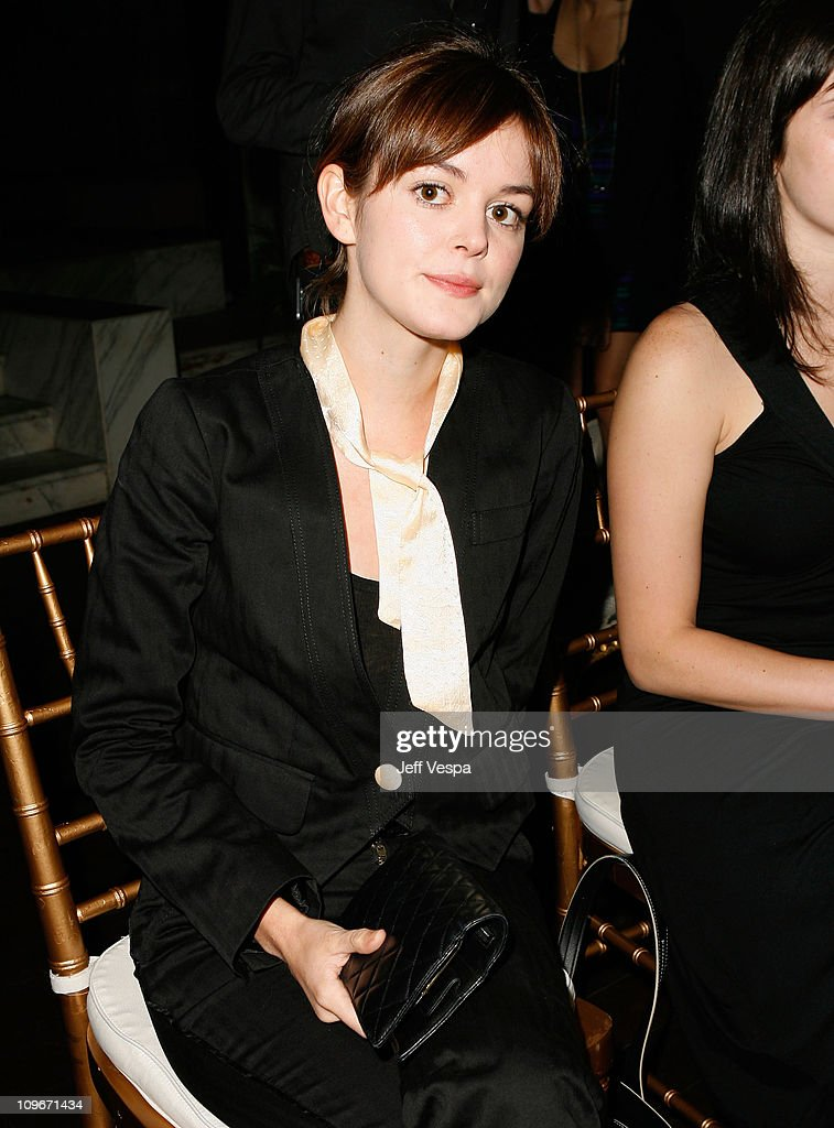 Actress Nora Zehetner inside the Teen Vogue Young Hollywood Party at Vibiana on September 20, 2007 in Los Angeles, California.