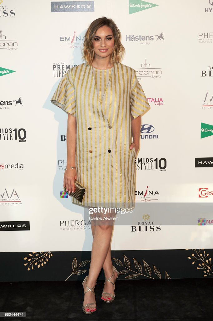 Actress Norma Ruiz attends the 'Lifestyle' Awards 2018 on June 28, 2018 in Madrid, Spain.