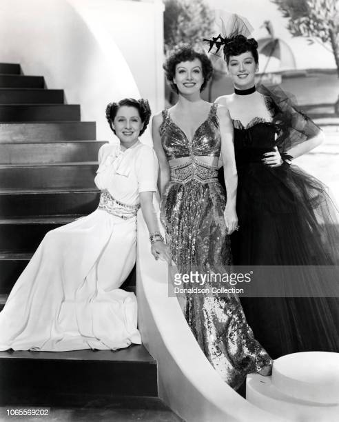 Actress Norma Shearer Joan Crawford Rosalind Russell in a scene from the movie Angels with Dirty Faces