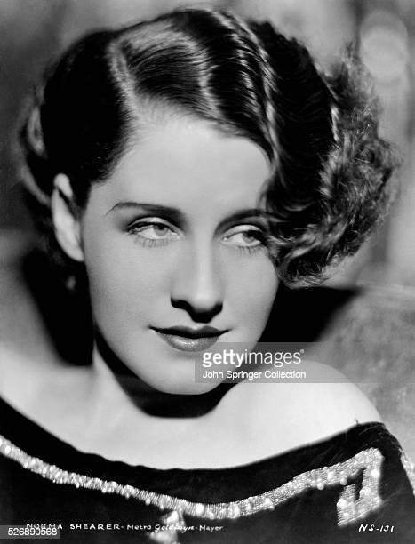 Actress Norma Shearer