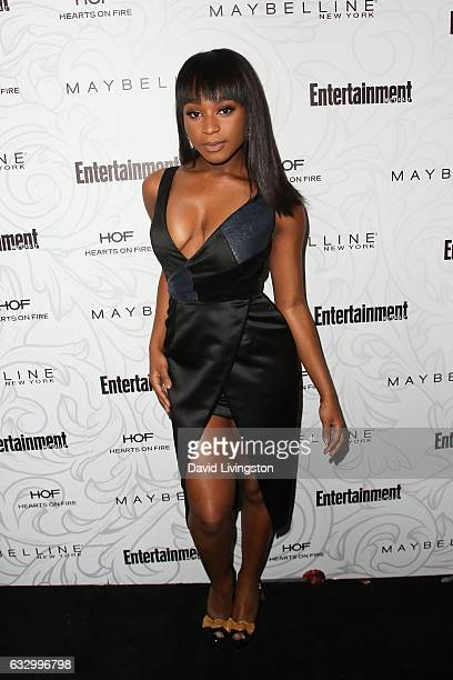 Actress Normani Kordei arrives at the Entertainment Weekly celebration honoring nominees for The Screen Actors Guild Awards at the Chateau Marmont on...