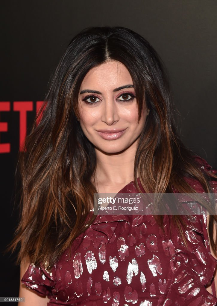 Actress Noureen DeWulf attends a special screening of Netflix's 'When We First Met' at ArcLight Hollywood on February 20, 2018 in Hollywood, California.