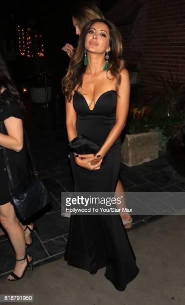 Actress Noureen DeWulf is seen on July 18 2017 in Los Angeles California