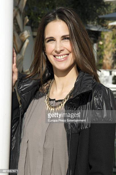 Actress Nuria Fergo presents 'Lucia La Maga' on January 9 2014 in Malaga Spain
