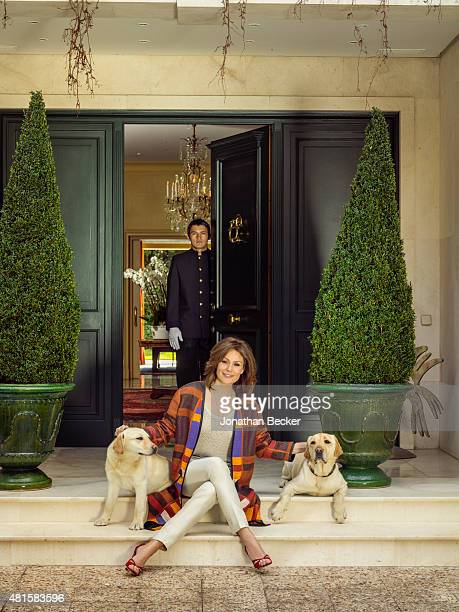 Actress Nuria Gonzalez is photographed for Vanity Fair Spain on March 13 2015 in Madrid Spain PUBLISHED IMAGE