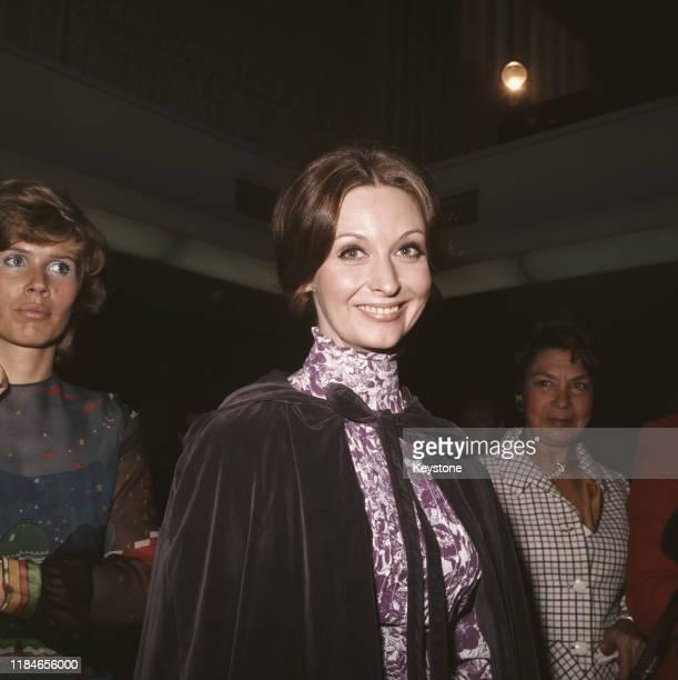 Actress Nyree Dawn Porter circa 1973