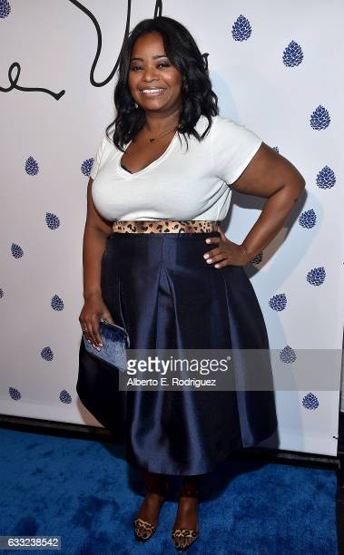 Actress Octavia Spencer arrives as Tyler Ellis celebrates 5th Anniversary and launch of Tyler Ellis x Petra Flannery Collection at Chateau Marmont on...