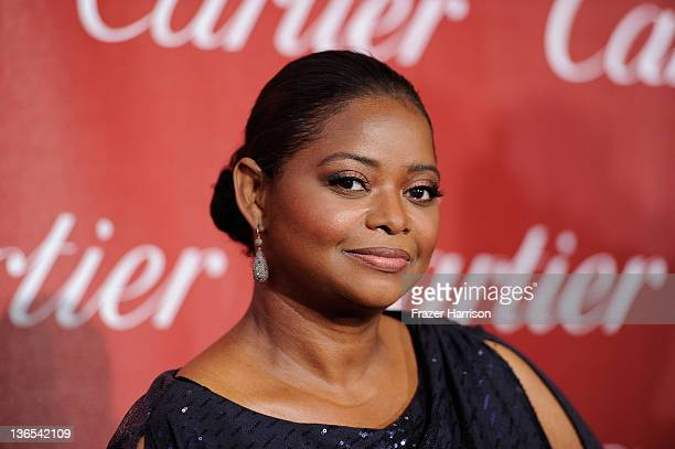 Actress Octavia Spencer arrives at the 2012 Palm Springs International Film Festival Awards Gala at Palm Springs Convention Center on January 7, 2012...