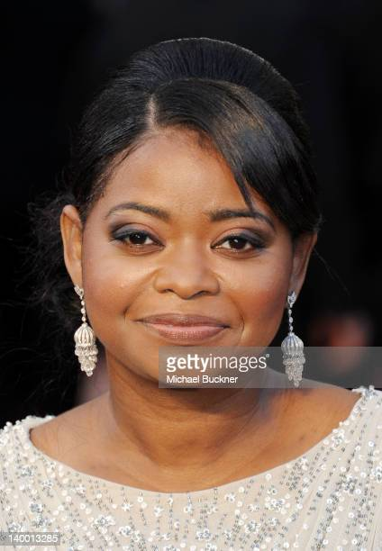Actress Octavia Spencer arrives at the 84th Annual Academy Awards held at the Hollywood Highland Center on February 26 2012 in Hollywood California