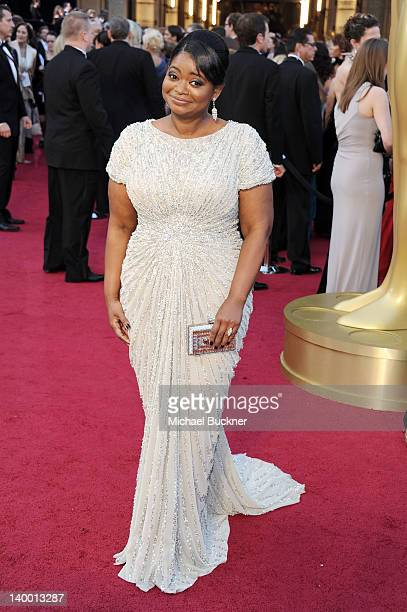 Actress Octavia Spencer arrives at the 84th Annual Academy Awards held at the Hollywood & Highland Center on February 26, 2012 in Hollywood,...
