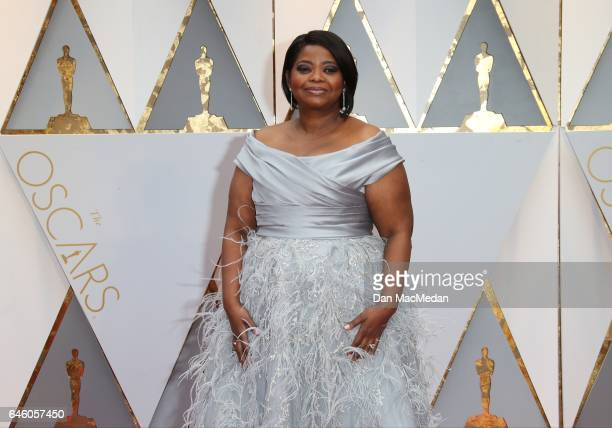 Actress Octavia Spencer arrives at the 89th Annual Academy Awards at Hollywood & Highland Center on February 26, 2017 in Hollywood, California.