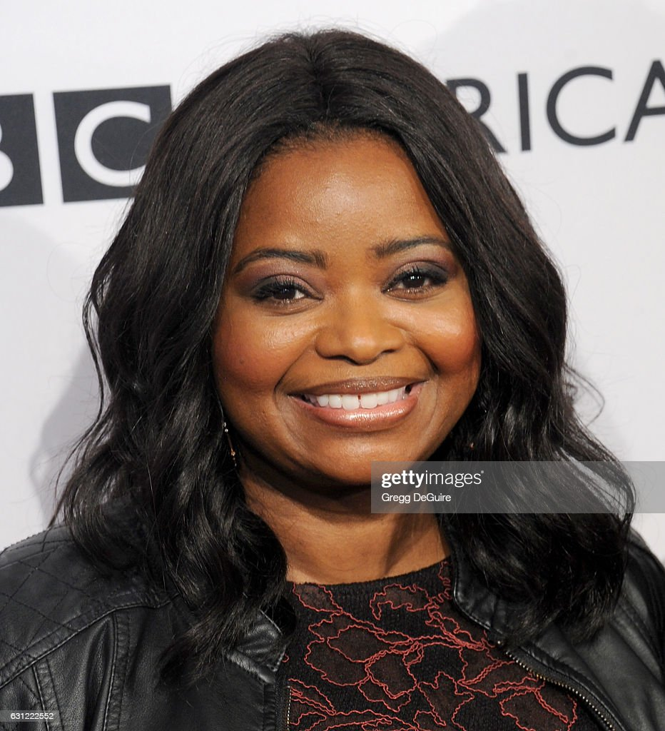 Actress Octavia Spencer arrives at The BAFTA Tea Party at Four Seasons Hotel Los Angeles at Beverly Hills on January 7, 2017 in Los Angeles, California.