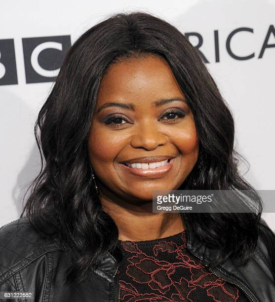 Actress Octavia Spencer arrives at The BAFTA Tea Party at Four Seasons Hotel Los Angeles at Beverly Hills on January 7 2017 in Los Angeles California