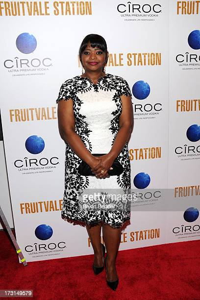 Actress Octavia Spencer arrives at the New York premiere of FRUITVALE STATION hosted by The Weinstein Company BET Films and CIROC Vodka on July 8...