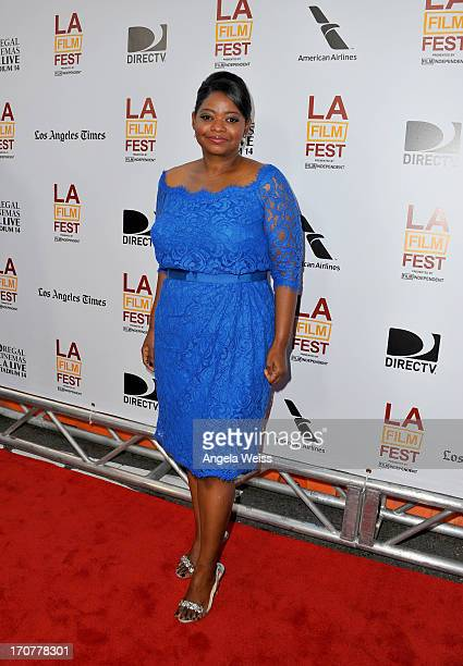 """Actress Octavia Spencer arrives at the premiere of The Weinstein Company's """"Fruitvale Station"""" during the 2013 Los Angeles Film Festival at Regal..."""