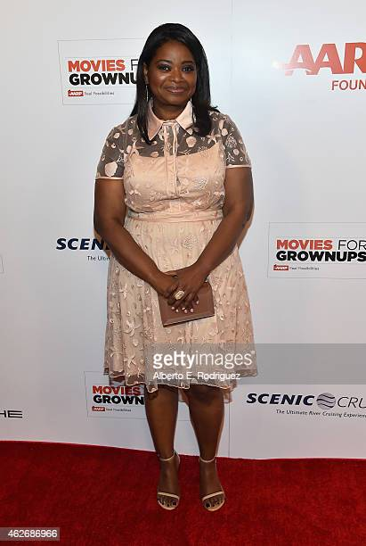 Actress Octavia Spencer arrives to AARP The Magazine's 14th Annual Movies For Grownups Awards Gala at the Beverly Wilshire Four Seasons Hotel on...