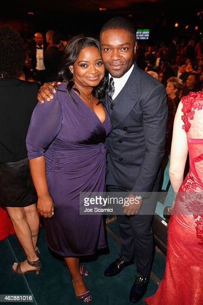 Actress Octavia Spencer attend the 46th NAACP Image Awards presented by TV One at Pasadena Civic Auditorium on February 6 2015 in Pasadena California