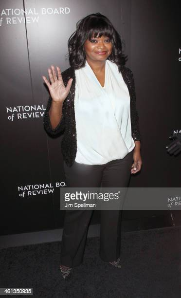Actress Octavia Spencer attends the 2014 National Board Of Review Awards Gala at Cipriani 42nd Street on January 7 2014 in New York City