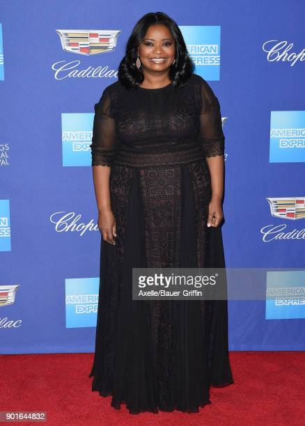 Actress Octavia Spencer attends the 29th Annual Palm Springs International Film Festival Awards Gala at Palm Springs Convention Center on January 2...