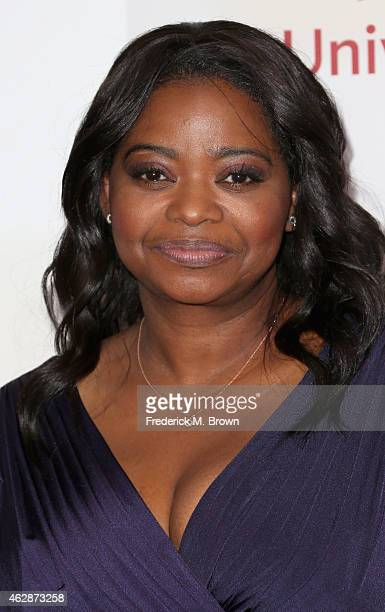 Actress Octavia Spencer attends the 46th NAACP Image Awards presented by TV One at Pasadena Civic Auditorium on February 6 2015 in Pasadena California