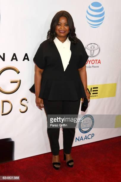 Actress Octavia Spencer attends the 48th NAACP Image Awards at Pasadena Civic Auditorium on February 11 2017 in Pasadena California