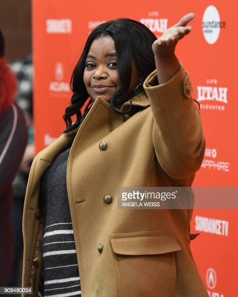 Actress Octavia Spencer attends the 'A Kid Like Jake' Premiere during the 2018 Sundance Film Festival at Eccles Center Theatre on January 23 2018 in...
