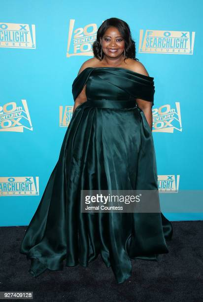 Actress Octavia Spencer attends the Fox Searchlight And 20th Century Fox Oscars PostParty on March 4 2018 in Los Angeles California