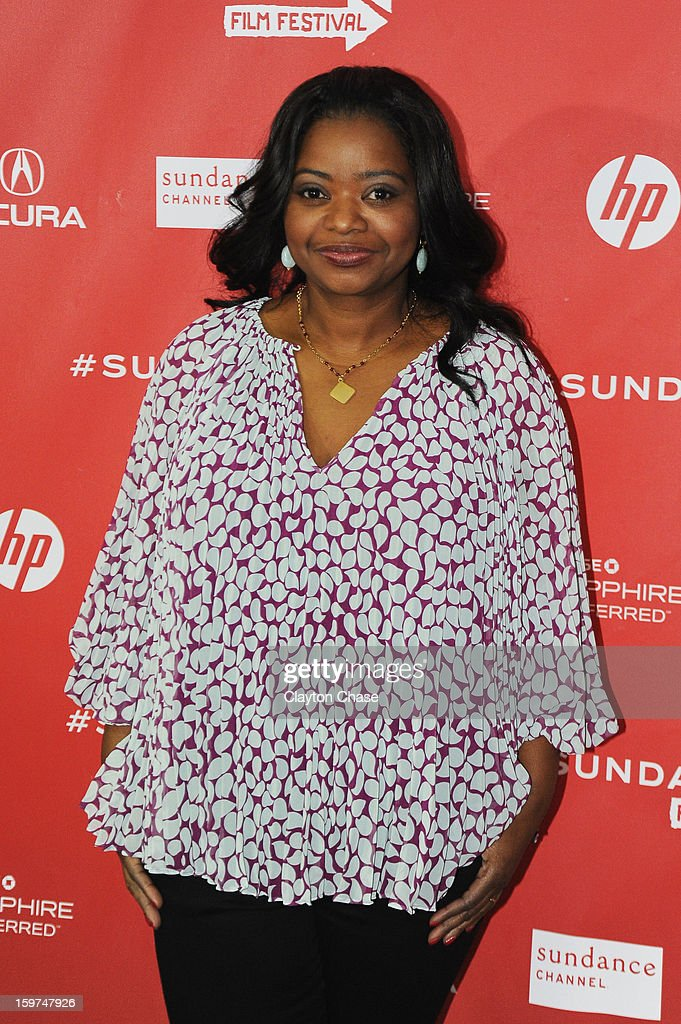 Actress Octavia Spencer attends the 'Fruitvale' premiere at The Marc Theatre during the 2013 Sundance Film Festival on January 19, 2013 in Park City, Utah.