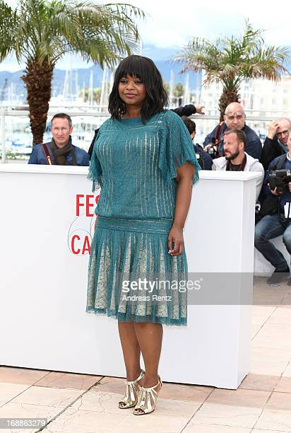 Actress Octavia Spencer attends the 'Fruitvale Station' Photocall during the 66th Annual Cannes Film Festival at the Palais des Festivals on May 16,...