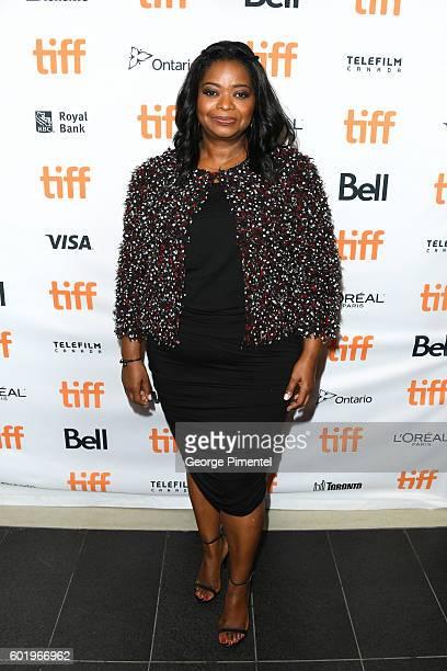 Actress Octavia Spencer attends the Hidden Figures premiere during the 2016 Toronto International Film Festival at TIFF Bell Lightbox on September 10...
