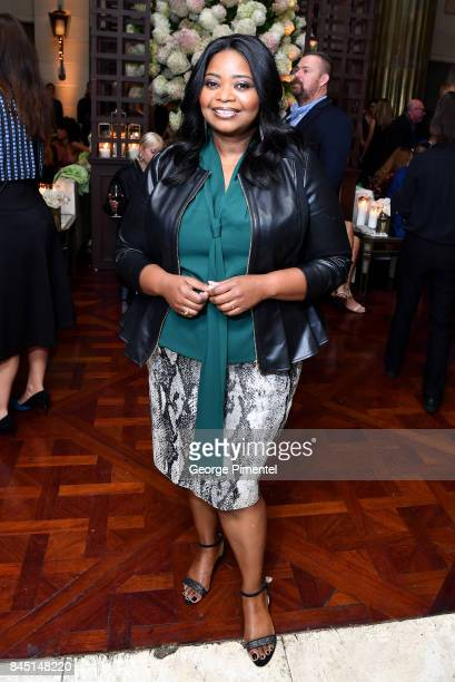 Actress Octavia Spencer attends The Hollywood Foreign Press Association and InStyle's annual celebrations of the 2017 Toronto International Film...