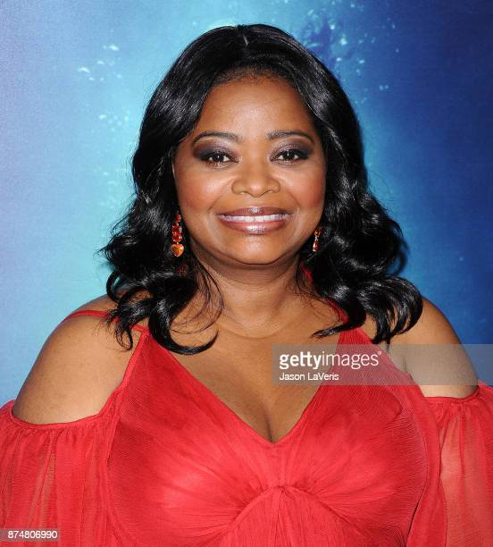 """Actress Octavia Spencer attends the premiere of """"The Shape of Water"""" at the Academy of Motion Picture Arts and Sciences on November 15, 2017 in Los..."""