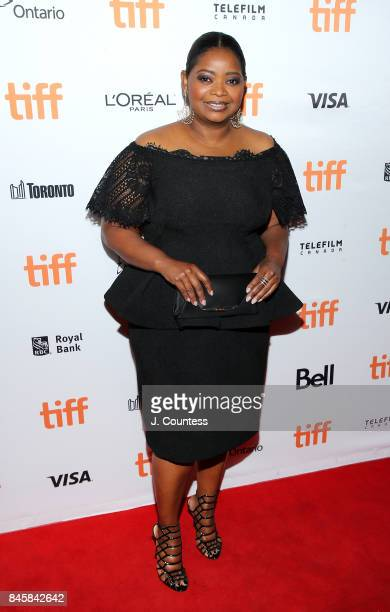 Actress Octavia Spencer attends the premiere of 'The Shape Of Water' during the 2017 Toronto International Film Festival at The Elgin on September 11...