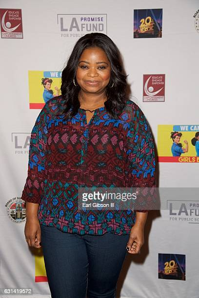 Actress Octavia Spencer attends the LA Promise Fund Screening Of Hidden Figures at USC Galen Center on January 10 2017 in Los Angeles California