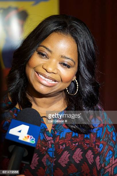 Actress Octavia Spencer attends the LA Promise Fund Screening Of 'Hidden Figures' at USC Galen Center on January 10 2017 in Los Angeles California