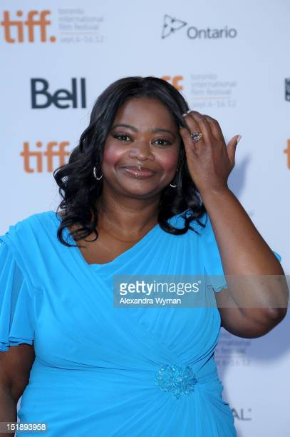 Actress Octavia Spencer attends the Smashed premiere during the 2012 Toronto International Film Festival at Ryerson Theatre on September 12 2012 in...