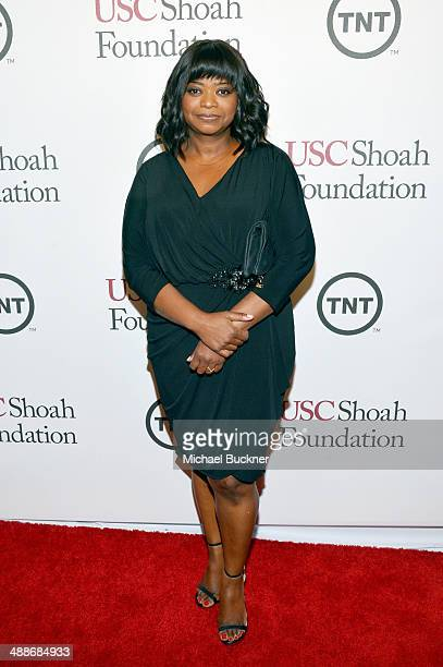 Actress Octavia Spencer attends USC Shoah Foundation's 20th Anniversary Gala at the Hyatt Regency Century Plaza on May 7 2014 in Century City...