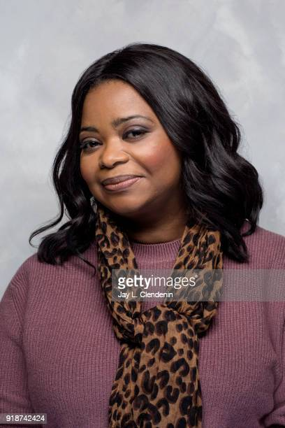 Actress Octavia Spencer from the film 'A Kid Like Jake' is photographed for Los Angeles Times on January 21 2018 in the LA Times Studio at Chase...