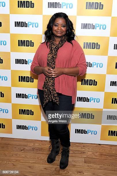 Actress Octavia Spencer in The IMDb Studio In Park City Utah Day Four on January 25 2016 in Park City Utah