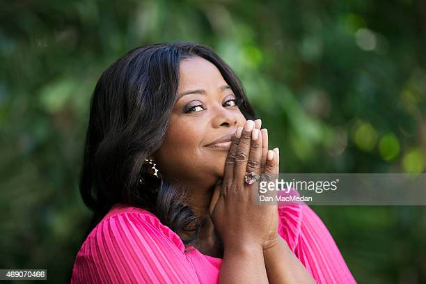 Actress Octavia Spencer is photographed for USA Today on March 6 2015 in Los Angeles California PUBLISHED IMAGE
