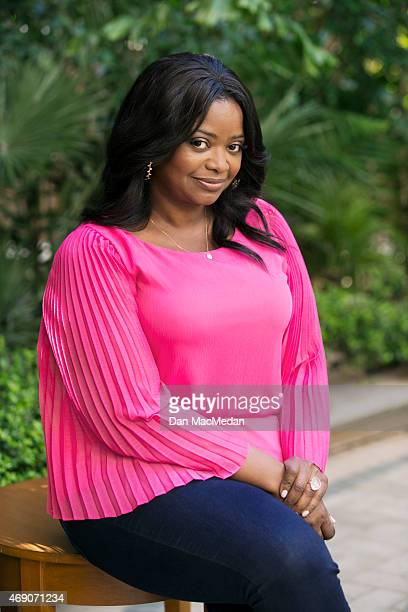 Actress Octavia Spencer is photographed for USA Today on March 6 2015 in Los Angeles California